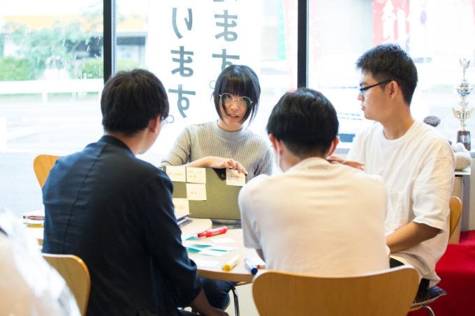 成島 ワークショップ 旅する冊子 取材インターン