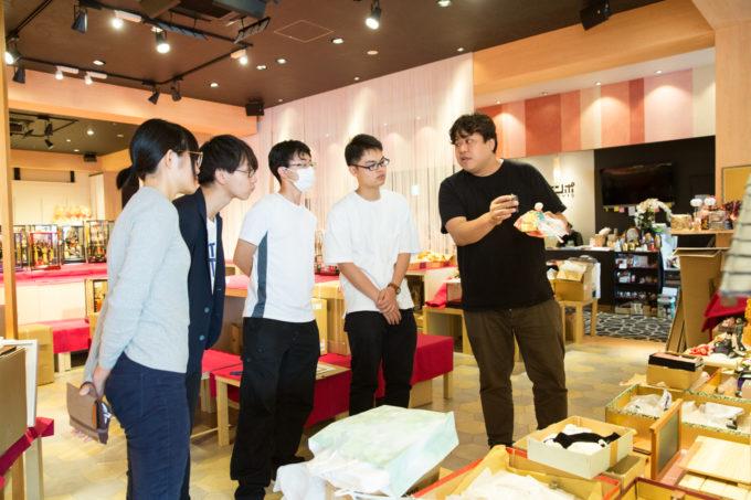 成島 会社見学 旅する冊子 取材インターン